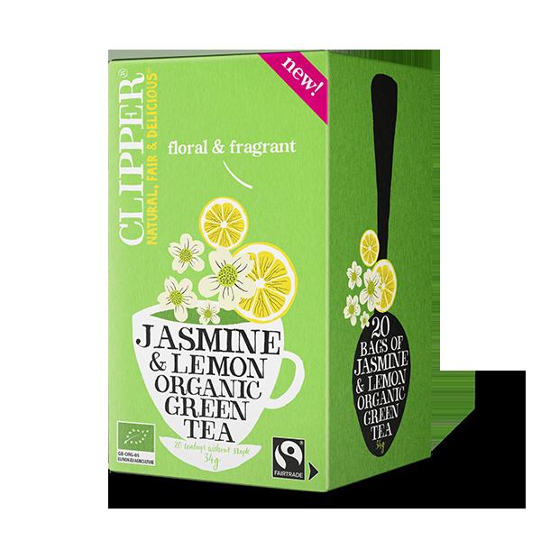 Organic Jasmine & Lemon Green Tea