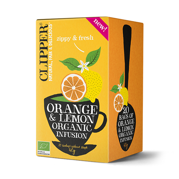 Organic Orange & Lemon Infusion
