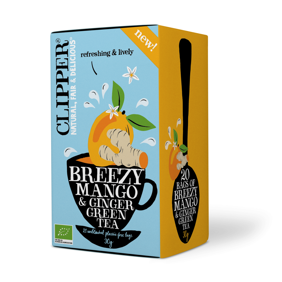 Breezy Mango Ginger